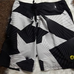 Voodoo Stretch Men's Trapezoid Print Board Shorts